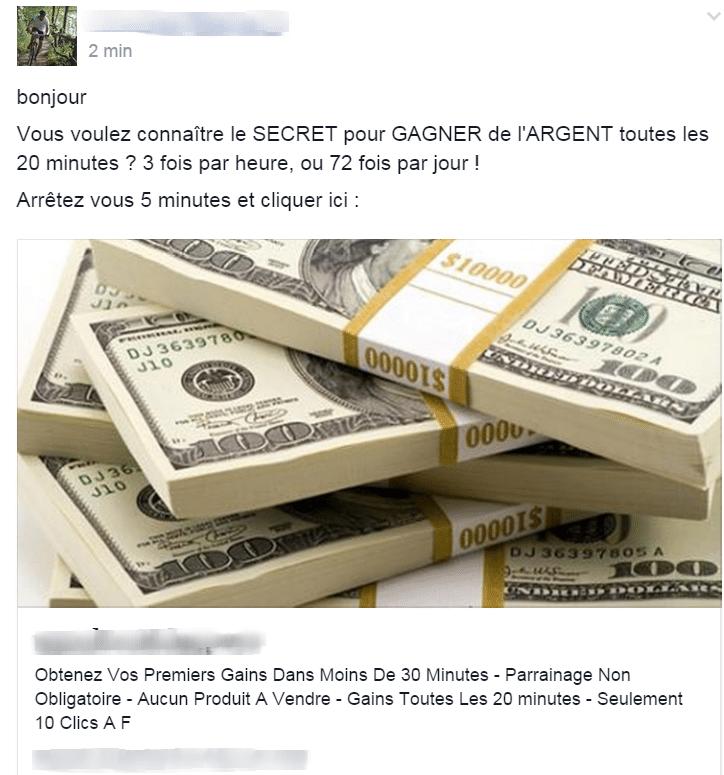Mhétodes pour gagner de l argent a domicile mlm vdi etc...